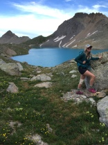Hiking Columbine Lake